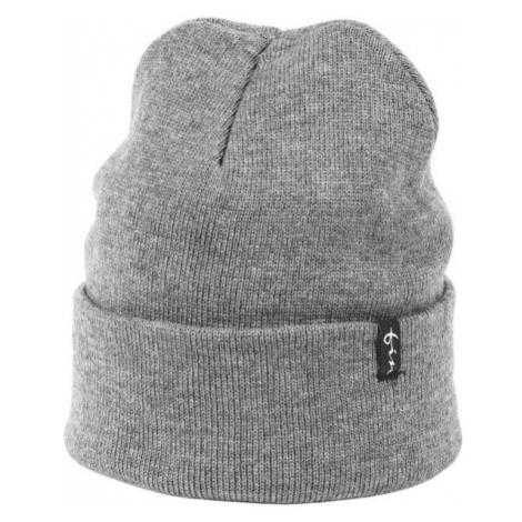 Finmark WINTER HAT grey - Women's knitted hat