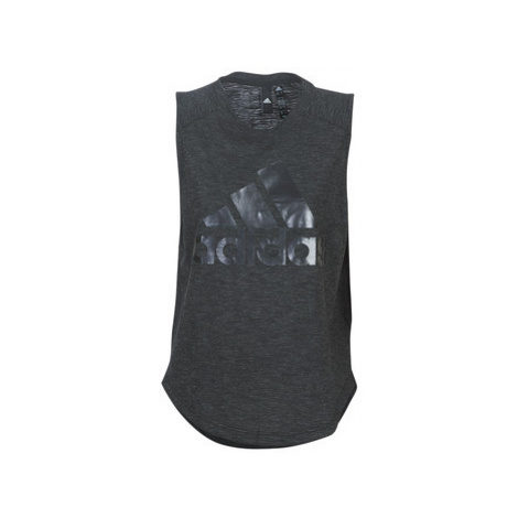 Adidas HEDIM women's Vest top in Black