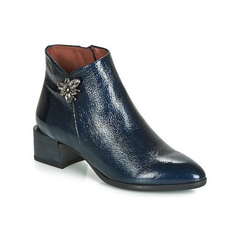 Hispanitas NADIA women's Low Ankle Boots in Blue