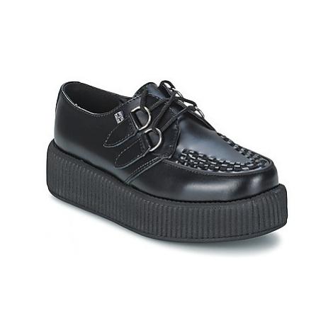 TUK MONDO HI women's Casual Shoes in Black T.U.K