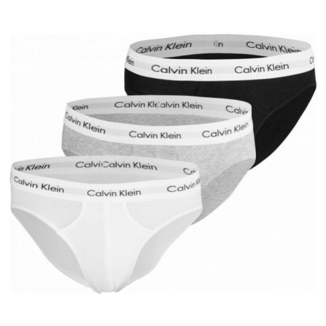 Calvin Klein 3 PACK HIP BRIEF white - Men's briefs