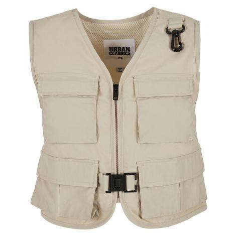 Urban Classics Ladies' Short Tactical Vest Vest beige