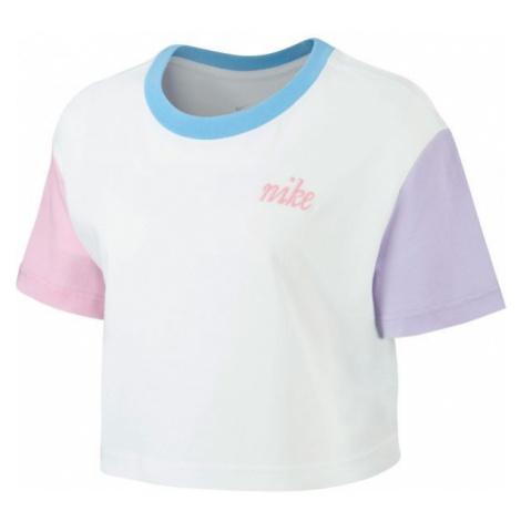 Nike NSW TEE FEMME 2 CROP white - Women's T-shirt