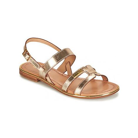 Les Tropéziennes par M Belarbi HELINA women's Sandals in Gold