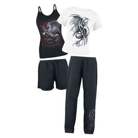 Spiral - Wyvern - Pyjamas - black