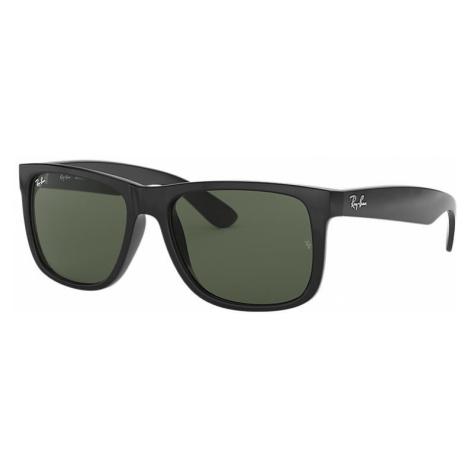 Ray-Ban Justin classic Unisex Sunglasses Lenses: Green, Frame: Black - RB4165 601/71 55-16