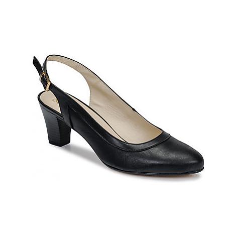 So Size JIRITUNE women's Court Shoes in Black