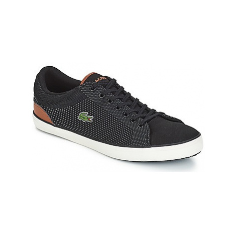 Lacoste LEROND 318 1 men's Shoes (Trainers) in Black