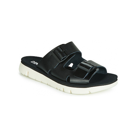 Camper ORUGA MULE women's Sandals in Black