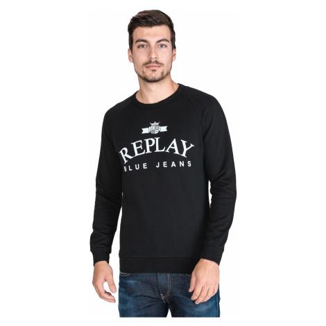 Replay Sweatshirt Black
