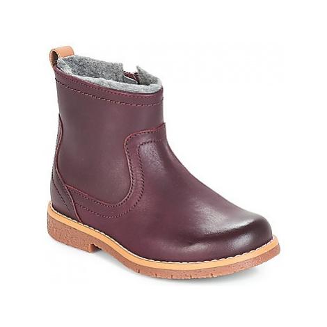 Clarks Comet Frost girls's Children's Mid Boots in Red