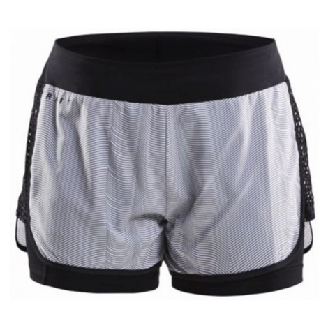 Craft CHARGE 2in1 W grey - Women's loose shorts