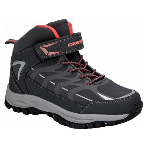 Crossroad DINEX black - Kids' trekking shoes