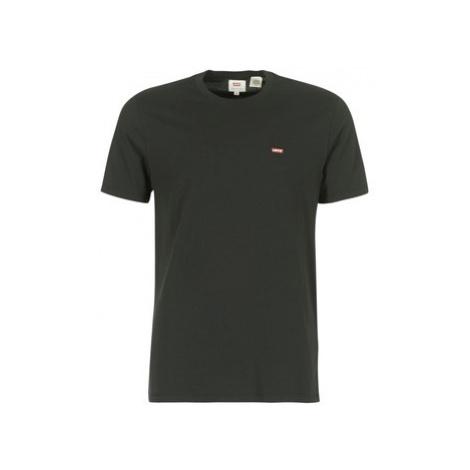 Levis SS ORIGINAL HM TEE men's T shirt in Black Levi´s