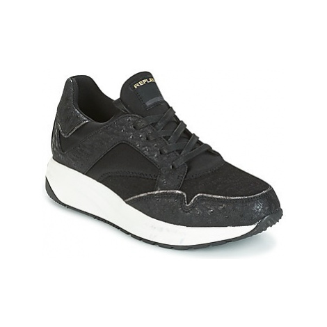 Replay ARMYE women's Shoes (Trainers) in Black