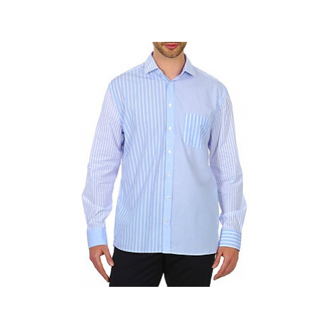 Gant DASHERS POPLIN SPREAD men's Long sleeved Shirt in Blue