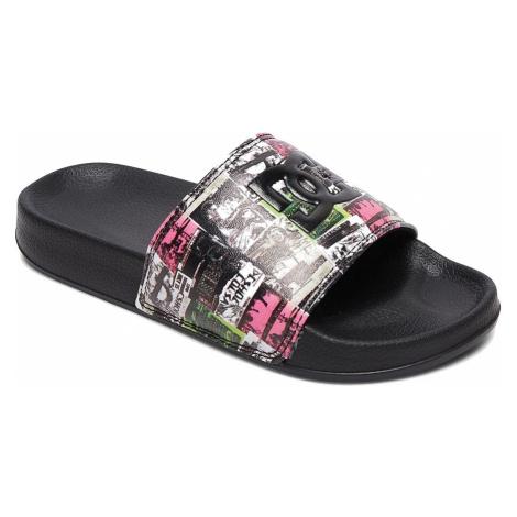 shoes DC DC Slide - MLT/Multi - unisex junior