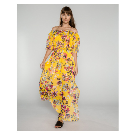 French Connection Linosa Dress Yellow