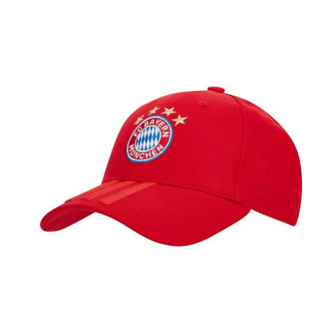 FC Bayern 3 Stripes Cap - Red Adidas