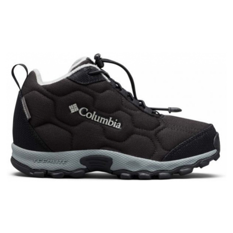 Columbia CHILDRENS FIRECAMP MID 2 WP black - Kids' trekking shoes