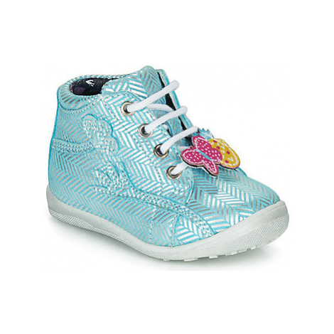 Catimini SALAMANDRE girls's Children's Shoes (High-top Trainers) in Blue