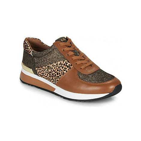 MICHAEL Michael Kors ALLIE TRAINER women's Shoes (Trainers) in Brown