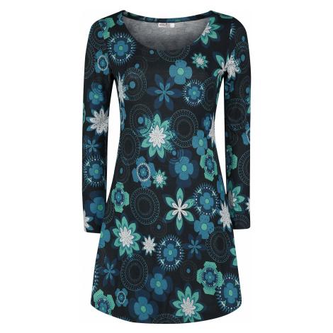 Innocent - Flower Rounds Winter Dress - Dress - black