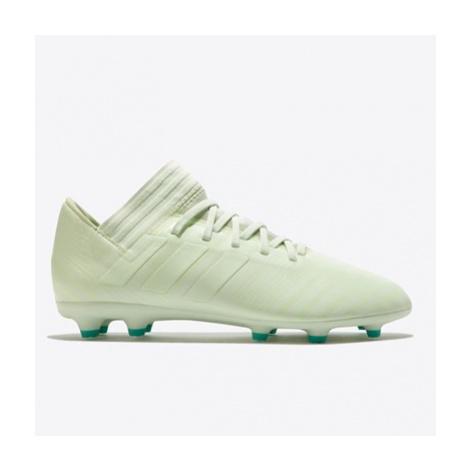 Adidas Nemeziz 17.3 Firm Ground Football Boots - Green - Kids