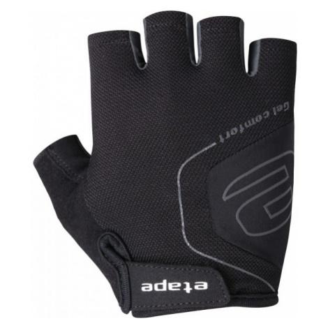 Etape AIR GLOVES black - Men's cycling gloves
