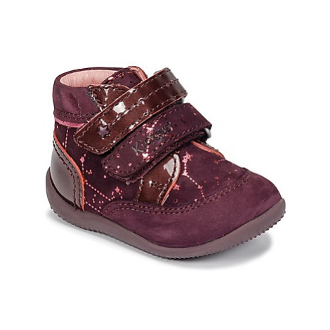 Kickers BILIANA girls's Children's Mid Boots in Purple