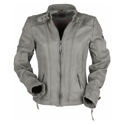 Gipsy - GGPacey LVTW - Girls leather jacket - light grey