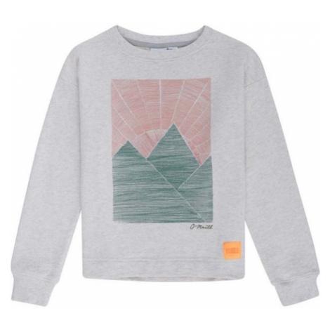 O'Neill LG ILANA CREW grey - Girls' hoodie