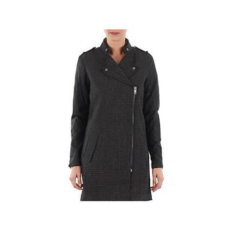 Yas MIND WOOL BICKER JACKET women's Coat in Grey Y.A.S
