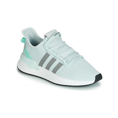 White men's running shoes