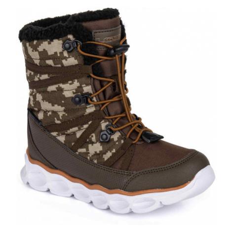 Loap TAHORI brown - Kids' winter shoes