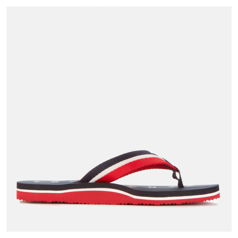 Tommy Hilfiger Women's Mellie NY Toe Post Sandals - Midnight - UK