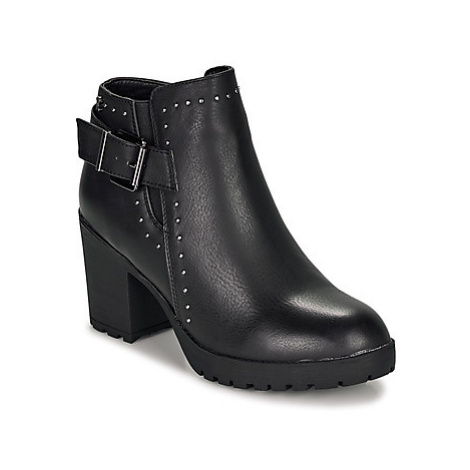 Refresh 69220-BLACK women's Low Ankle Boots in Black