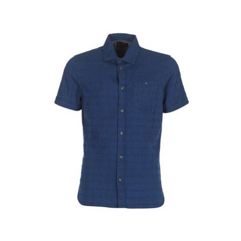 Petrol Industries JATEPO men's Short sleeved Shirt in Blue