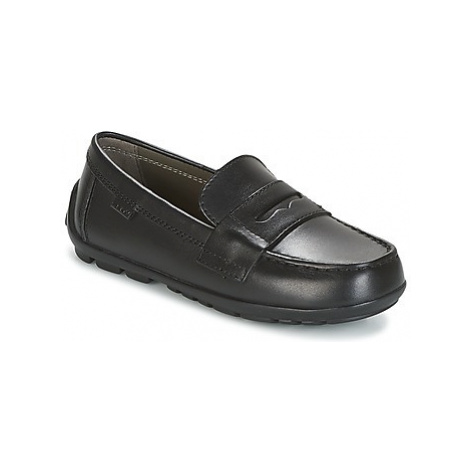 Geox J NEW FAST B. A boys's Children's Loafers / Casual Shoes in Black