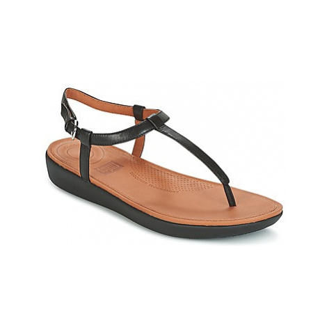 FitFlop TIA TOE THONG SANDALS women's Sandals in Black