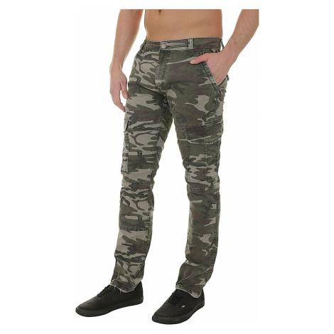 pants Mavi Yves Cargo - Camouflage Denim
