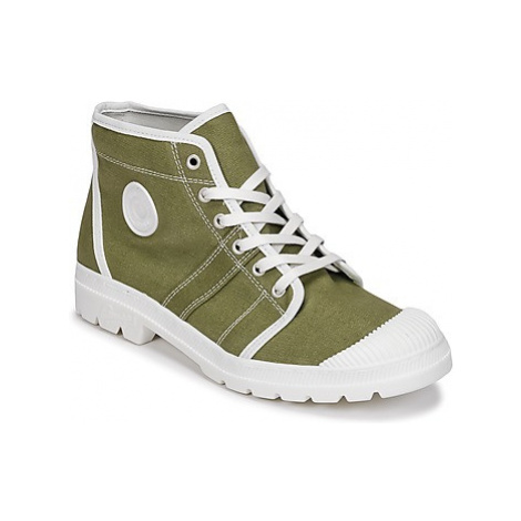 Pataugas AUTHENTIC-T-KAKI women's Shoes (High-top Trainers) in Kaki