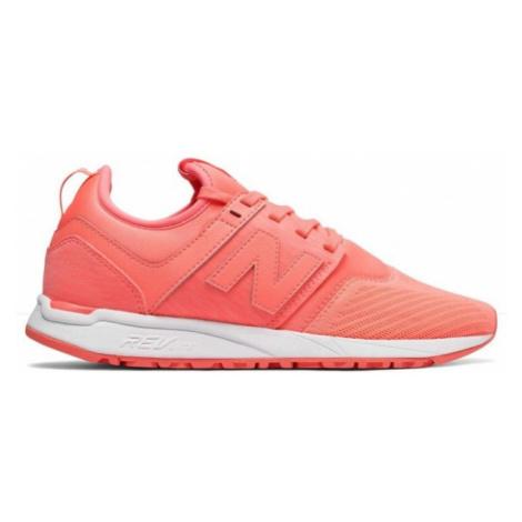 New Balance WRL247SW orange - Women's leisure footwear