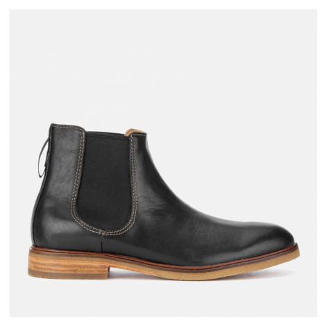 Clarks Men's Clarkdale Gobi Leather Chelsea Boots - Black - UK