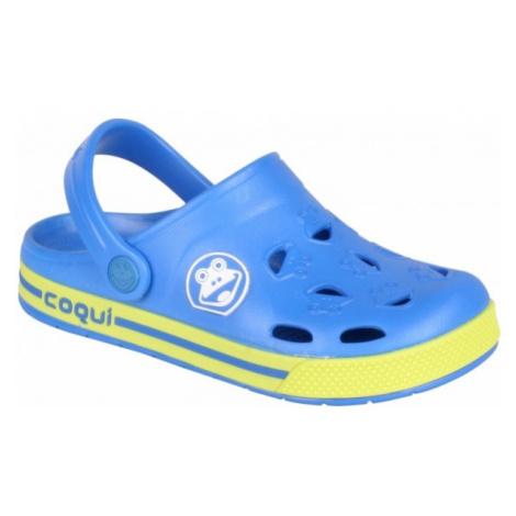 Coqui FROGGY blue - Kids' sandals
