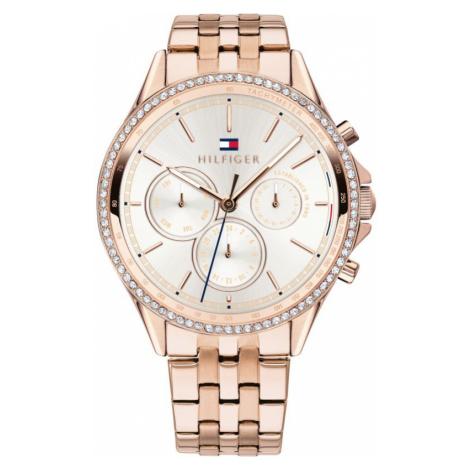 Ladies Tommy Hilfiger Ari Carnation Gold Watch