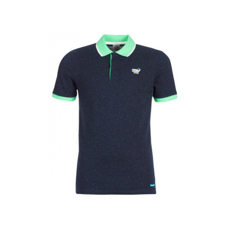 Jack Jones JORSTYSTA men's Polo shirt in Blue Jack & Jones