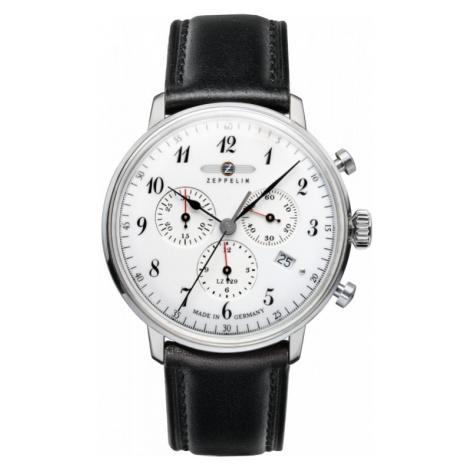 Mens Zeppelin Hindenburg Chronograph Watch 7086-1