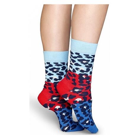 socks Happy Socks Block Leopard - BLE01-6001