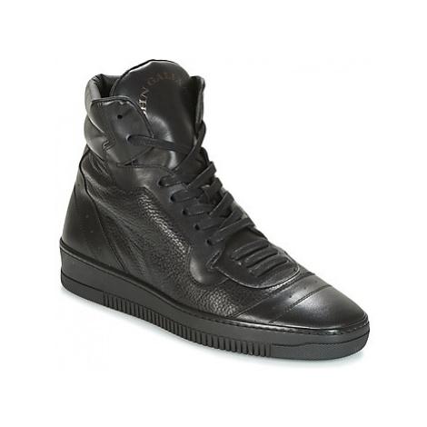 John Galliano FOFA men's Shoes (High-top Trainers) in Black